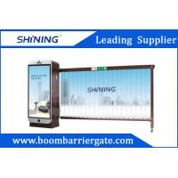 Buy cheap Smart RFID Reader Entrence Advertising Barriers 3.2m With CE Certificated from wholesalers