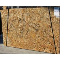 China Brazil Gold Granite Tile Countertop / Granite Slabs For Kitchen Countertops wholesale