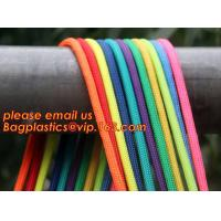 China Best quality Green amusement equipment polyester rope 5mm nylon braided rope wholesale