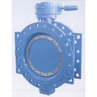 China Double Flanged Resilient Seated AWWA C 504 Butterfly Valves With Gear Box And Handwheel,CAST IRON wholesale