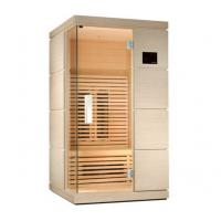 China Ceramic Single Person Infrared Sauna Room 110v / 220v, Touch Control Panel wholesale