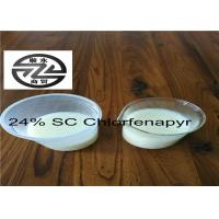 China Agricultural Chlorfenapyr 24 SC Low Toxicity Long Effective Period wholesale