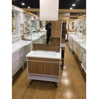 China Custom Made Square Hanging Bathroom Vanity Plywood Board Wall Bathroom Cabinets wholesale