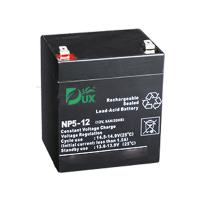 China Dux Battery AGM battery 12V 5AH lead acid battery VRLA battery long life battery seal acid maintenance free battery on sale