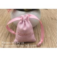 China Cotton Muslin Bags with Drawstring Gift Bags Jewelry Pouches Sacks for Wedding Party and DIY Craft,gifts, jewelries, sna wholesale