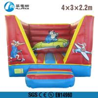 Buy cheap Indoor Inflatable Bounce House Customized Size PVC Tarpaulin Material from wholesalers