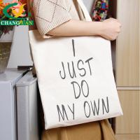 China 100% recycled cotton tote bags on sale