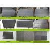 China Hainan Black Lava Sands Blasted Bluestone Black Dark Basalt Flamed Grooved Natural Stone Tiles Slabs wholesale