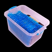Buy cheap Customized cold storage bamboo slips gel ice packs from wholesalers