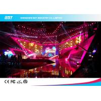 Buy cheap SMD 1R1G1B Rental LED Display Screen , P4.81 Indoor Led Billboard Die Casting aluminum from wholesalers