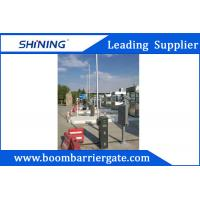 Buy cheap Intelligent Parking LED Boom Barrier Gate 24VDC 430.5MHz With Auto Close from wholesalers