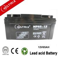 China 12v 65ah sealed lead acid battery wholesale