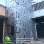 China foshan Powder coated Metal aluminum cladding for facade wholesale