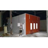 China Infrared Lamp Heating Spray Booth, Coating Line Equipment wholesale