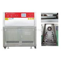 Quality UVB Accelerated Aging Test Chamber Color LCD Touch Screen Control System/quv accelerated weathering tester for sale