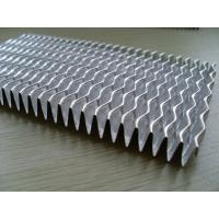 China Aluminium 3003 plate fin heat exchanger fins , Extend cooling surface with Great efficiency wholesale