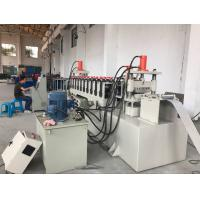 China 12 Stations PLC Control Cable Tray Roll Forming Machine 10-15m / Min Speed wholesale