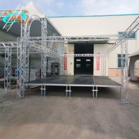 China 5floors Aluminum Stage Platform Used Portable Wooden Decoration wholesale