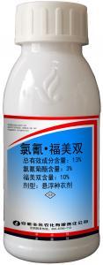 China Cypermethrin 3% Thiram 10% FS Seed Coating Pesticide wholesale