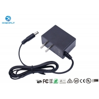 China 5V 1A 1.5A 2A 9V 1A 24V AC DC Power Adapter UL Listed US Plug Switching Power Supply wholesale