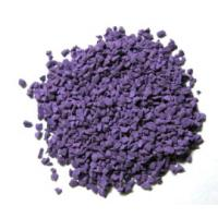 China Eco Friendly Recycled Rubber Granules / Colorful Rubber Playground Material wholesale