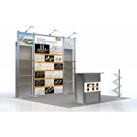 Quality Modular Trade Show Aluminum Booth , Toy Exhibit Booth Display 10 x 10 for sale
