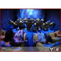 Buy cheap Flat Screen XD Theatre Simulator Electronic Virtual Reality 6D Rider Cinema from wholesalers