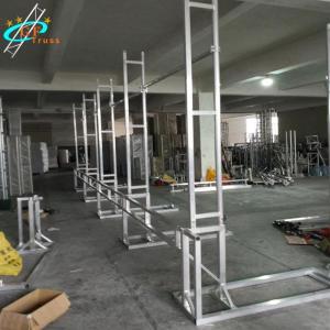 China Aluminum 50*3mm Main Tube LED Screen Truss For LED Cabinet wholesale