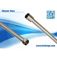 Quality Handheld Shower Hose Flexible Stainless Steel Chrome Double Lock for sale