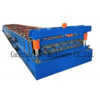 China YX-1020 Color Roofing Sheet Roll Forming Machine GI PPGI Raw Material on sale