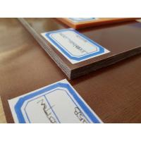 China 90 - 110Mpa Flexural Strength Colored Plastic Sheet for PCB / ICT Fixture,Brown Color on sale