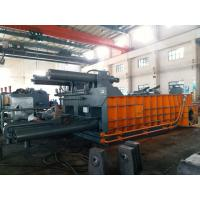 Buy cheap 315 Tons Baling Force Cuboid Block Cylinder Scrap Metal Press Machine from wholesalers