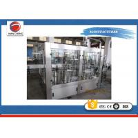 China High Accuracy Carbonated Drinks Filling Machine 2000 - 3000BPH For Soda Sparkling Water wholesale