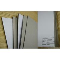 Buy cheap Rigid Gray Paperboard Single Side Coated Duplex Board Grey Back 1550gsm Stiffness from wholesalers