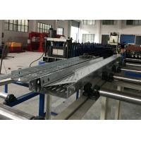 China 4-5 Meters / Min Cable Tray Roll Forming Machine Hydraulic Cutting Cr12mov wholesale
