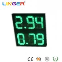 China 10 Inch Digits 8.88 Format Led Gas Price Sign , Led Price Sign For Gas Station wholesale