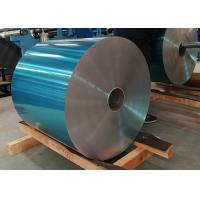 China 8011 Hydrophilic Coating Aluminum Foil Blue Color 0.15mm Thick For Refrigerators wholesale