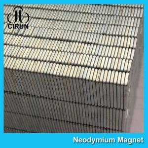 China Square Industrial Neodymium Magnets Bar Block N54 Grade High Strength wholesale