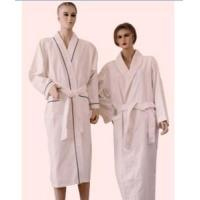 China 100% cotton waffle&towelling bathrobe wholesale