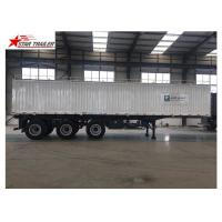 China Hydraulic Wing Van Platform Semi Trailer Container Delivery With Tail Retractable wholesale