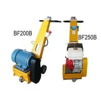 Quality Electric Gasoline Floor Scarifying Machine / Equipment With High Speed 1800rpm for sale