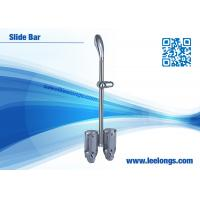 Quality Chromed Stainless Steel Shower Slide Bar Accessories For Hotel , Home for sale