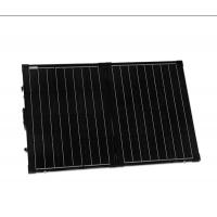 China Folding Sunpower Solar Panel Kits Portable , Efficient Solar Cell Off Grid on sale
