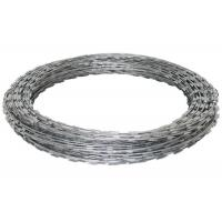 China Eco Friendly Cross Razor Wire Hot Dipped Galvanized For Fence 5-25kg / Roll wholesale