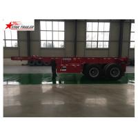 China High Strength 40 Foot Trailer , Strong Trailer Frame Container Skeletal Trailers wholesale