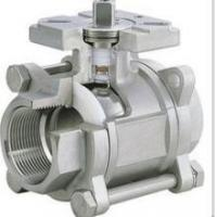 Buy cheap 3-pc stainless steel ball valves full port 1000wog BSPP NPT ISO-5211 DIRECT from wholesalers