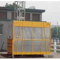 Quality Yellow OEM Goods Material Construction Hoist Elevator SC100 with Hot Dipped Zinc for sale