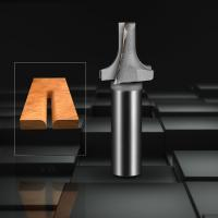 China Silver Corner Rounding TCT Router Bits For Wood Trimming Alloy Material wholesale