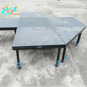 China Anti UV Adjustable Legs Portable Stage Platform For Outdoor Events wholesale