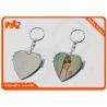 China Heaart Shape Personalised Compact Mirror / Foldable Personalised Pocket Mirror wholesale